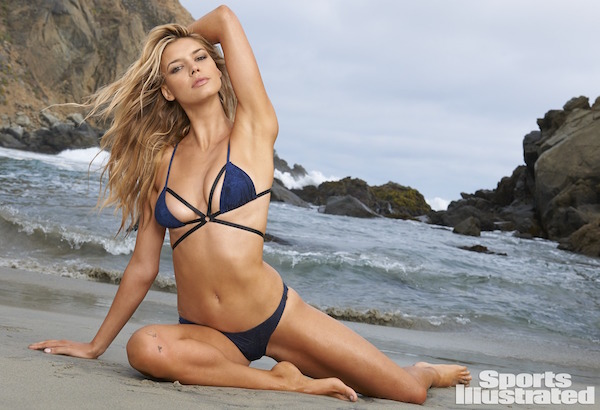Swimsuit 2015: West Coast Shoot Kelly Rohrbach Various/NA, NA, USA 7/12/2014 X158431 TK3 Credit: Yu Tsai Swimsuit by: One Teaspoon